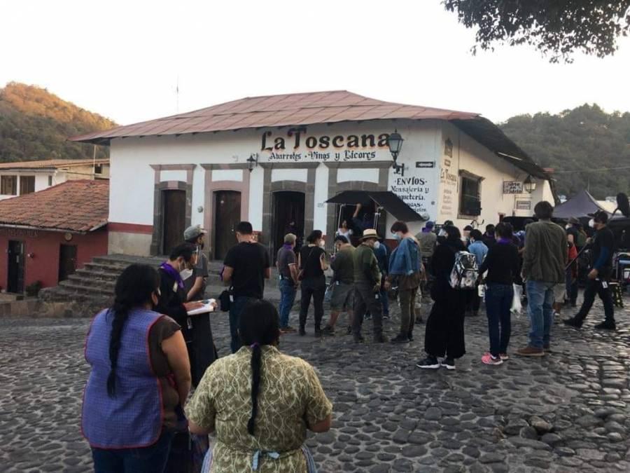 Yalitza Aparicio inicia filmación de su segunda película