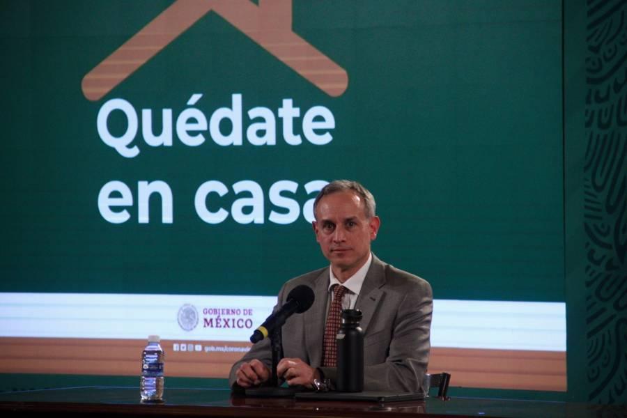 López-Gatell reaparece en conferencia; sigue siendo positivo a COVID-19