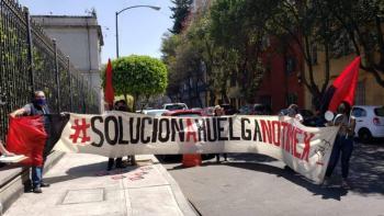 Sale laudo que condena reinstalación de secretaria general del SutNotimex