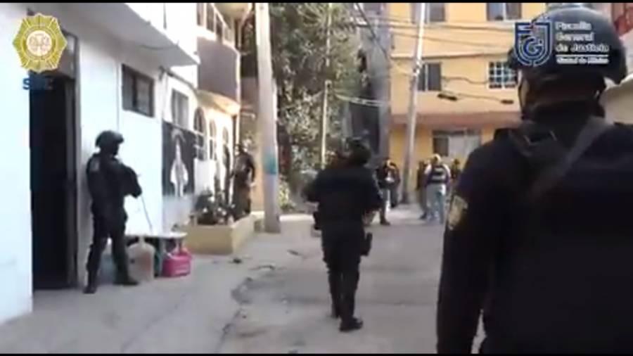En Xochimilco catean narco-casa, no hay detenidos
