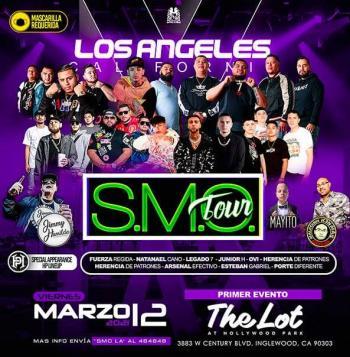 """Regresa la gira """"S.M.O. Tour"""" con Fuerza Regida, Natanael Cano, Junior H y OVI"""