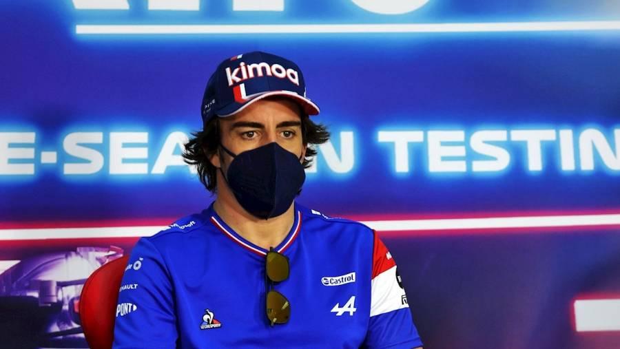 Fernando Alonso correrá en la F1 con placas de titanio en la mandíbula