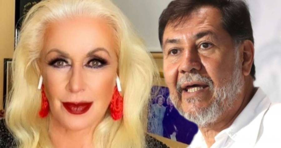"""Fernández Noroña: """"¡Qué majadera!"""", responde a Laura Zapata"""