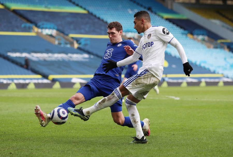 Leeds y Chelsea igualaron sin goles en la Premier League