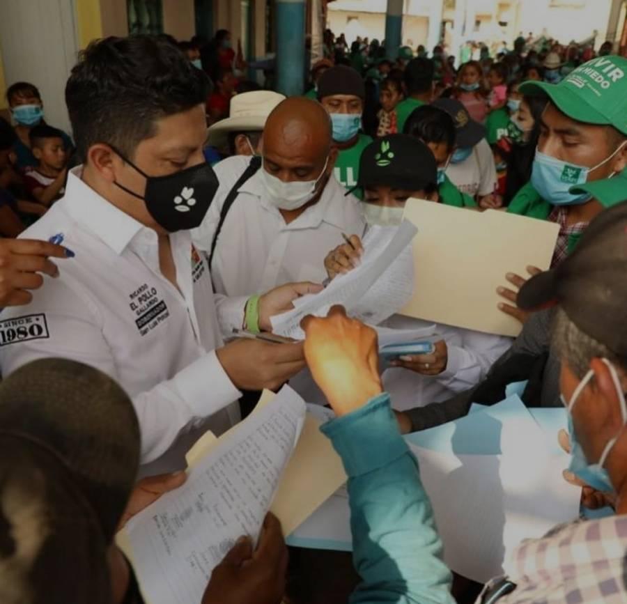 Ricardo Gallardo promete fortalecer los servicios de salud en SLP con nuevos hospitales
