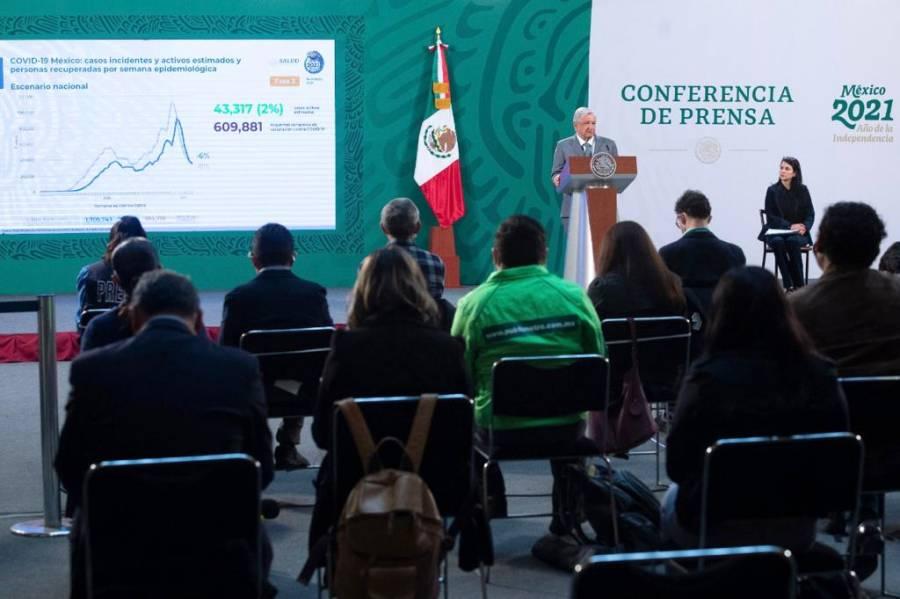 López Obrador rechaza que haya mensaje de amenaza a jueces