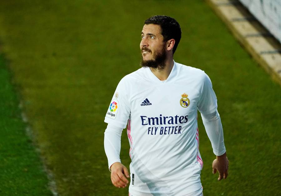 Eden Hazard se vuelve a lesionar tras mes y medio de baja con Real Madrid