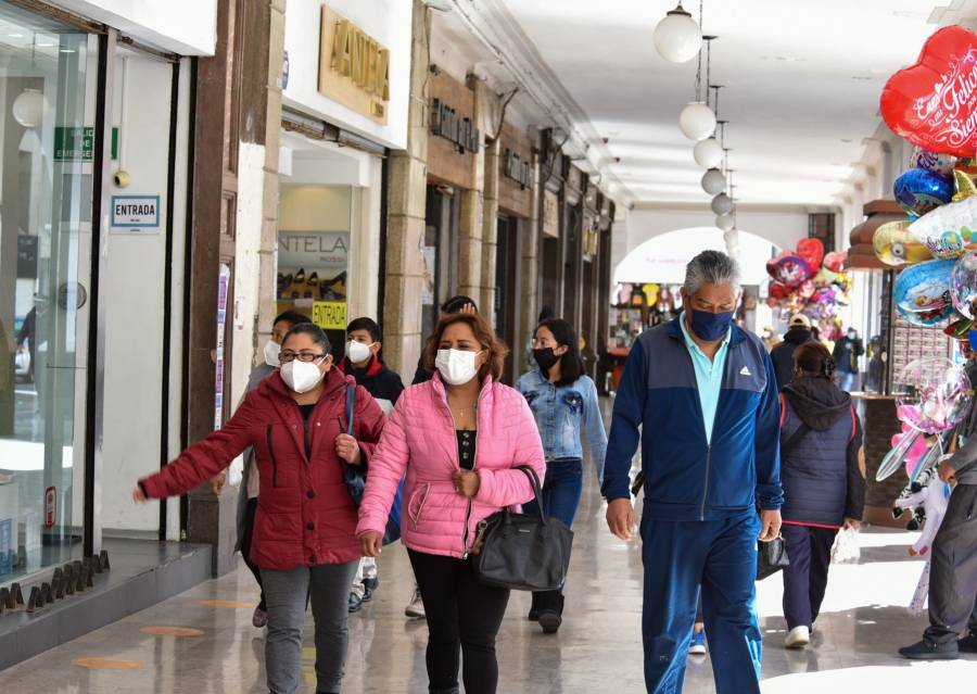 SLP con semáforo amarillo, autoridades piden seguir las medidas sanitarias