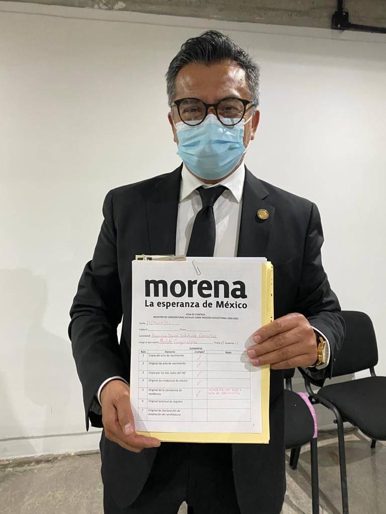 Morena registra a Francisco Saldívar como candidato a la alcaldía de Cuajimalpa