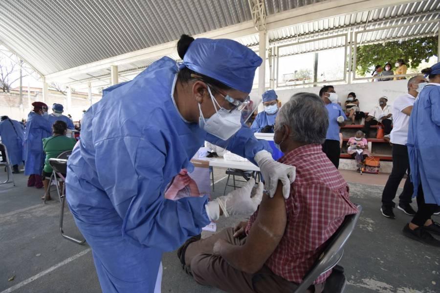 SLP: En La Ribera, amplían vacunación para adultos mayores