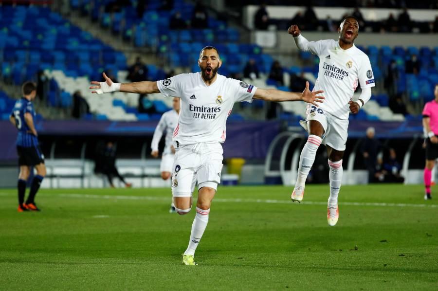 Real Madrid vence al Atalanta y se mete a cuartos de final en la Champions