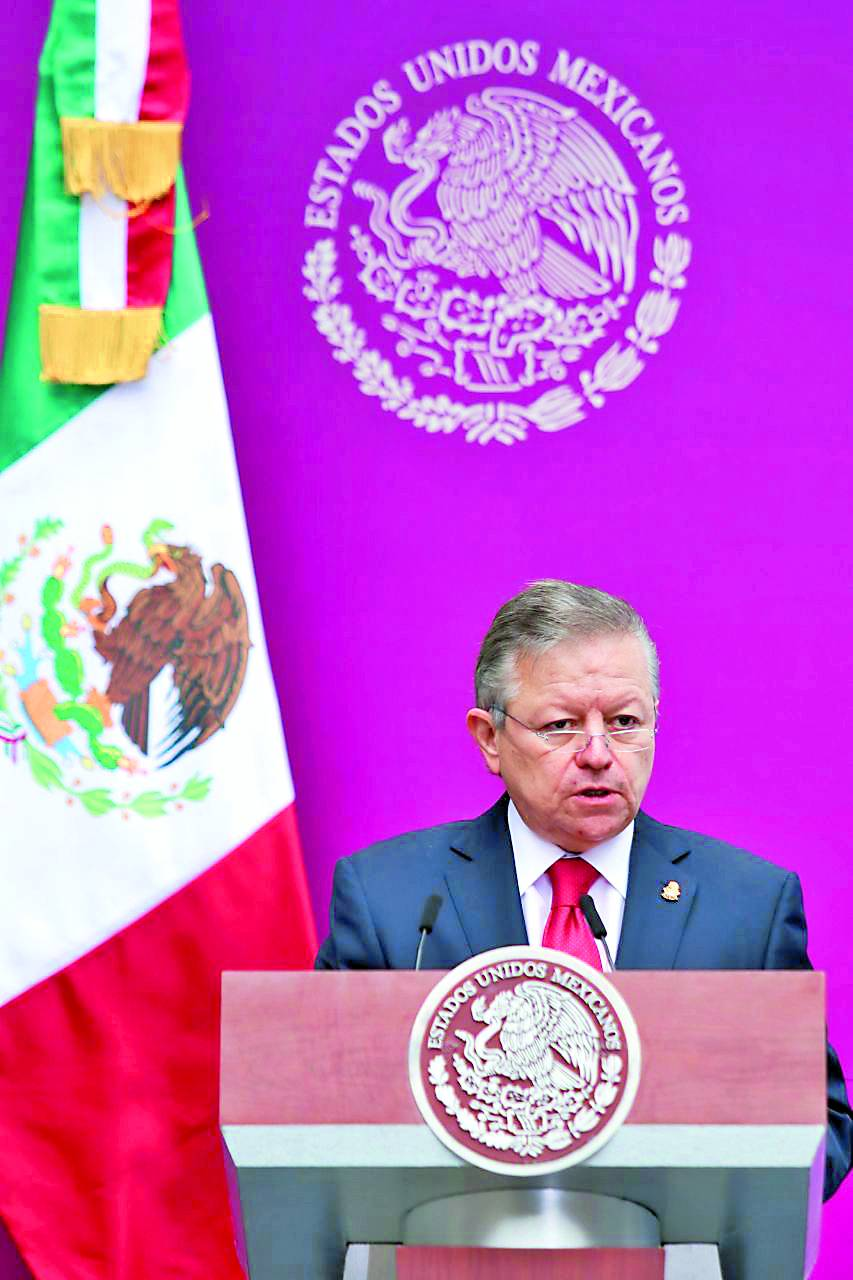 De existir elementos se realizará averiguación al juez: Arturo Zaldívar