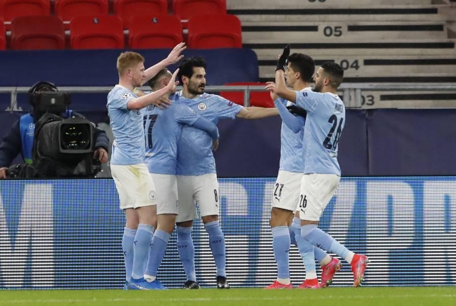 Manchester City cumple el trámite y elimina al Gladbach