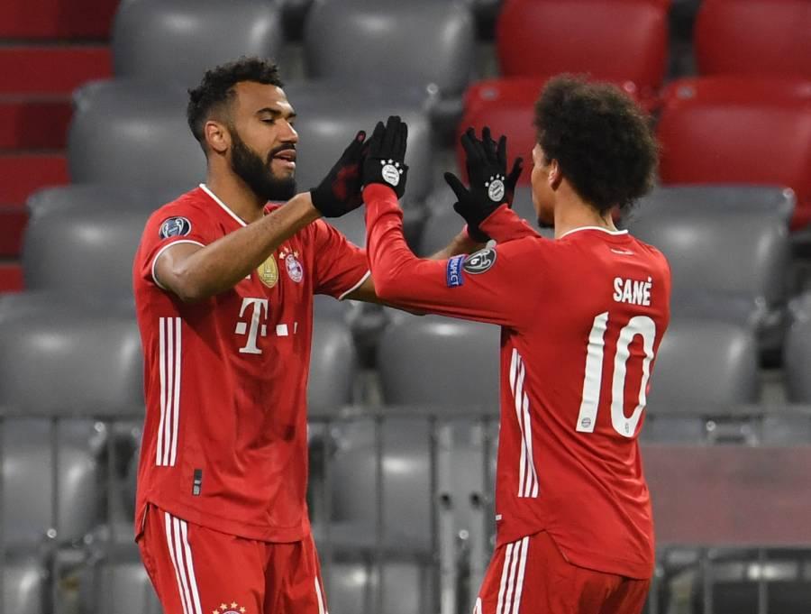 Bayern sin dificultad elimina a la Lazio en la Champions