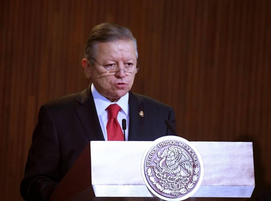 Arturo Zaldívar garantiza a AMLO que el CJF vigila el actuar de jueces