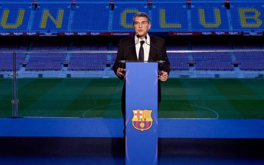 Laporta: haré todo lo posible para que Messi se quede