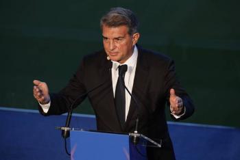 Laporta asume la presidencia del Barcelona