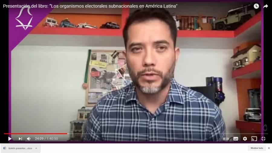Presentan IECM y PNUD México libro de análisis sobre función de organismos electorales locales