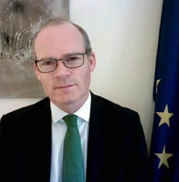 Entrevista Simon Coveney Ministro de Exteriores de Irlanda