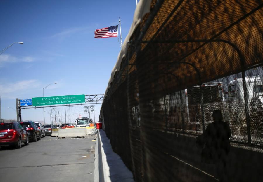 EU extiende cierre de frontera  con México hasta el 21 de abril