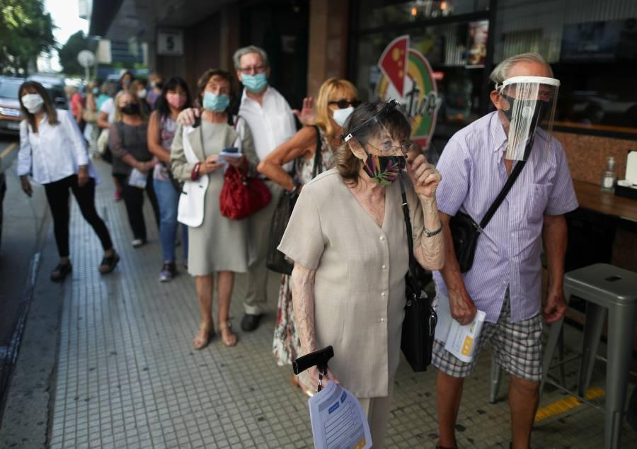 Reportan 8 mil 160 casos de Covid-19 y 113 muertes en Argentina