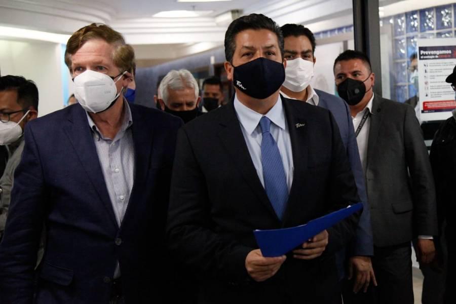 García Cabeza de Vaca participa en audiencia de desafuero con diputados
