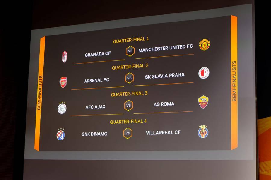 Quedaron definidos los cuartos de final de la Europa League
