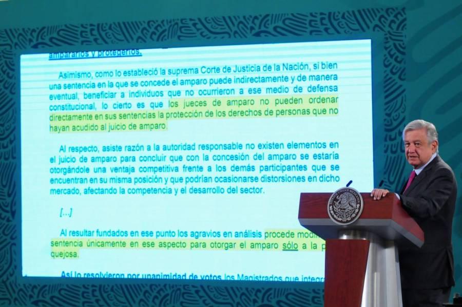 """""""Complemento de pruebas"""" contra juez por amparos"""