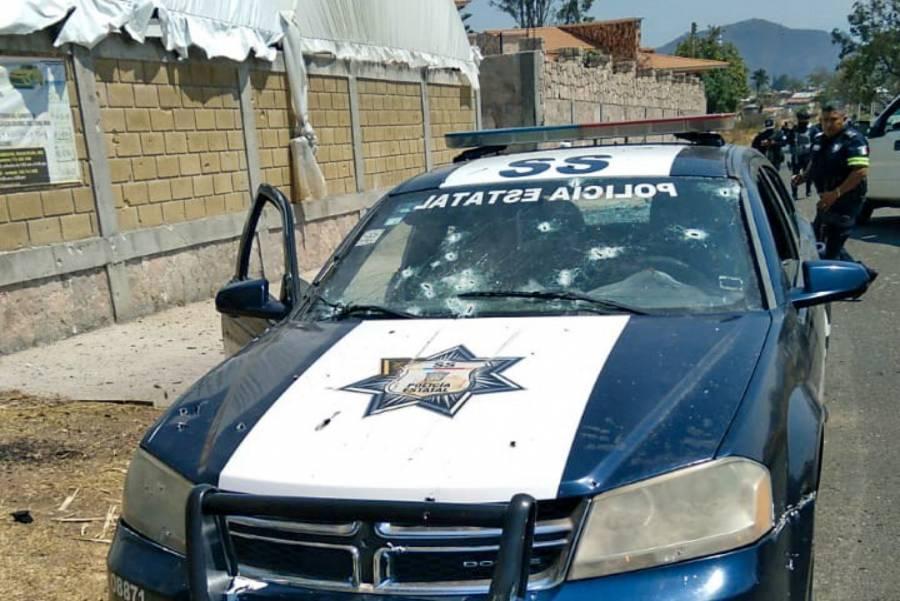 Emboscan y masacran al menos a 13 policías en el Estado de México