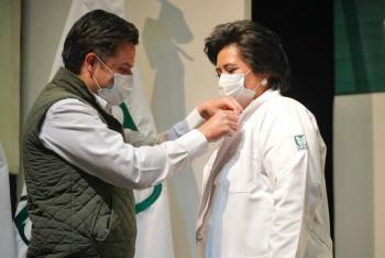 Instituciones y servidores fortalecidos y comprometidos de forma ordenada ante la emergencia sanitaria: Zoé Robledo