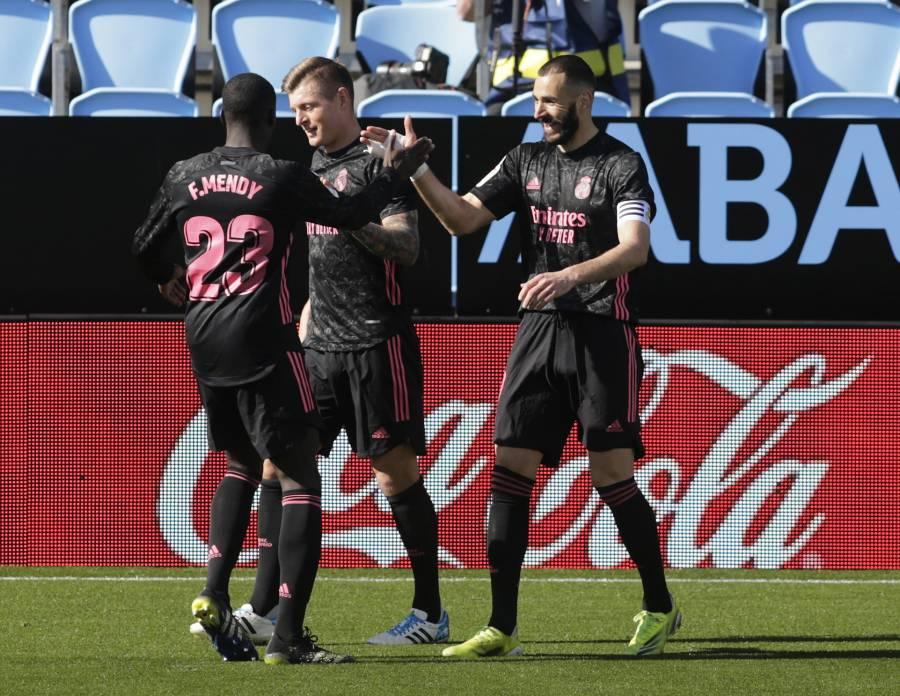 Real Madrid rescata la victoria ante el Celta de Vigo y se mantiene en la pelea por LaLiga