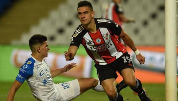 River Plate golea a Godoy Cruz en liga argentina