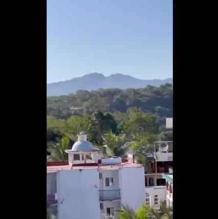 Reportan fuerte balacera en Rincón de Guayabitos, Nayarit