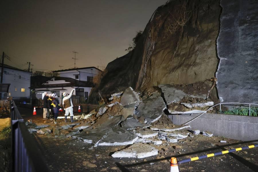 Sismo de 7.2 grados sacude Japón; activan alerta de tsunami
