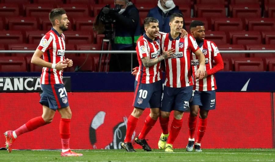 El Atlético Madrid derrota al Alavés 1-0
