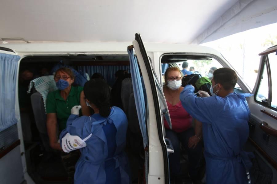 Salud: 716 mil 768 personas han recibido ya las dos vacunas