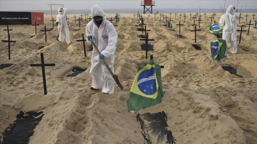 Registra Brasil cerca de 300 mil personas muertas por Covid 19