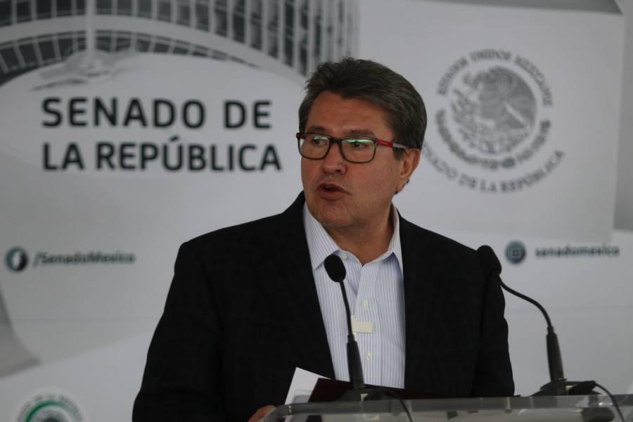 El 6 de junio será refrendatorio para el proyecto de Morena: Ricardo Monreal