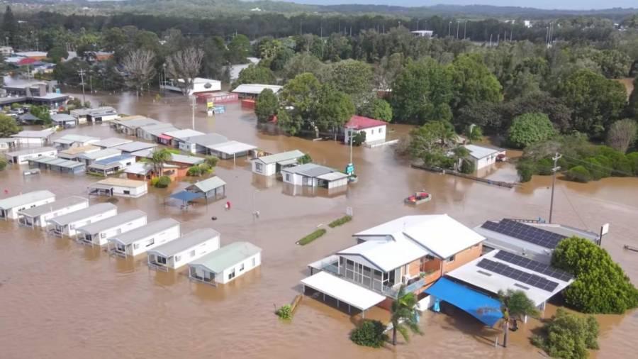 Lluvias en Australia causan las peores inundaciones en 50 años