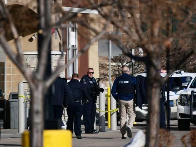 Reportan tiroteo en supermercado en Colorado, Estados Unido