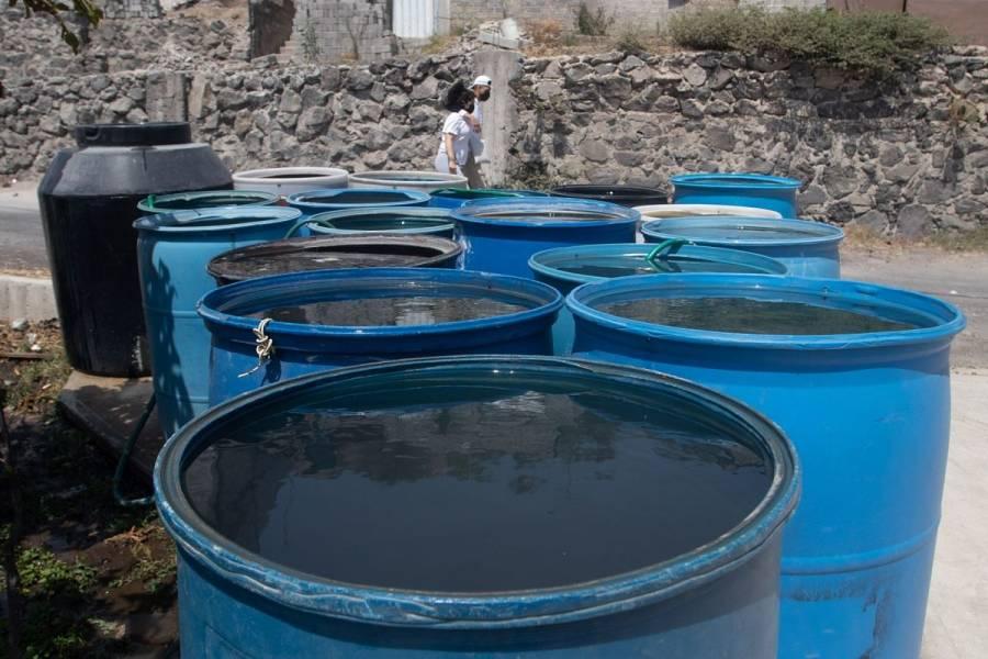 Anuncian reducción de agua el 25 y 26 de marzo en CDMX y Edomex