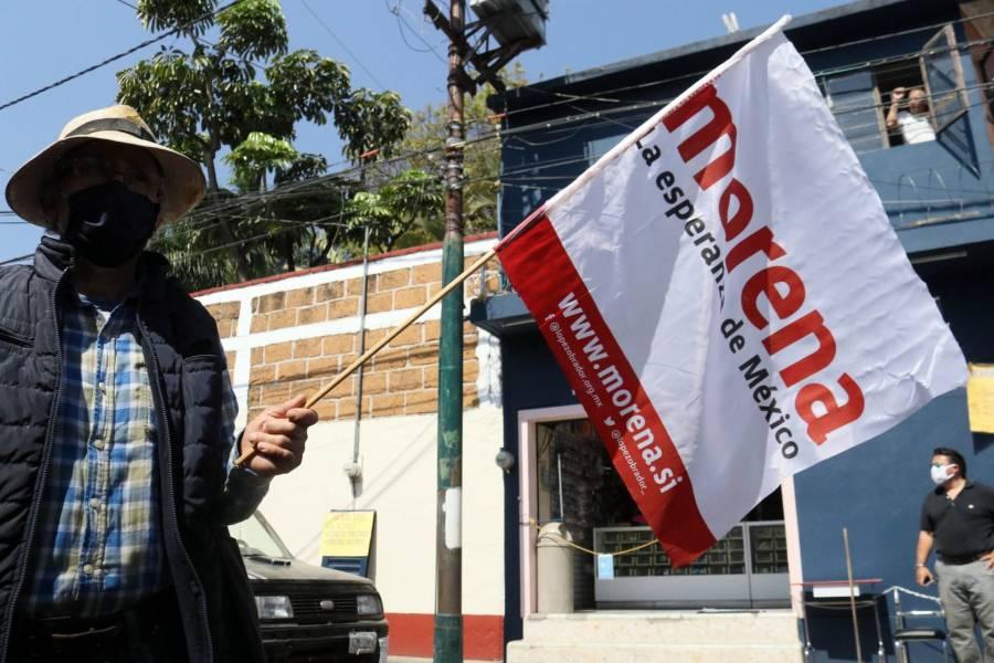 Van PT, PVEM y Morena por 183 distritos