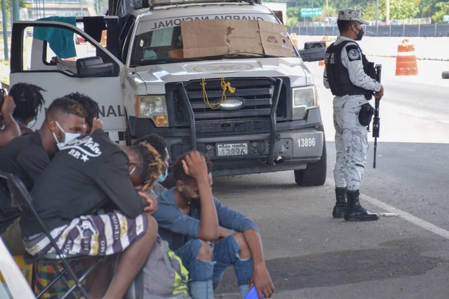 ...Y México pone candado a frontera sur para evitar paso de centroamericanos
