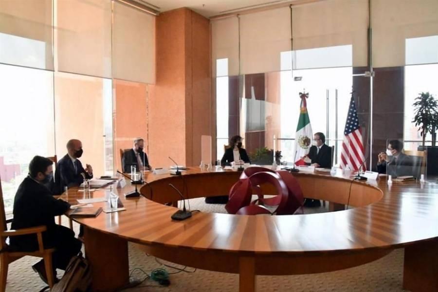 Intercambio de puntos de vista en reunión con funcionarios de EEUU: Ebrard