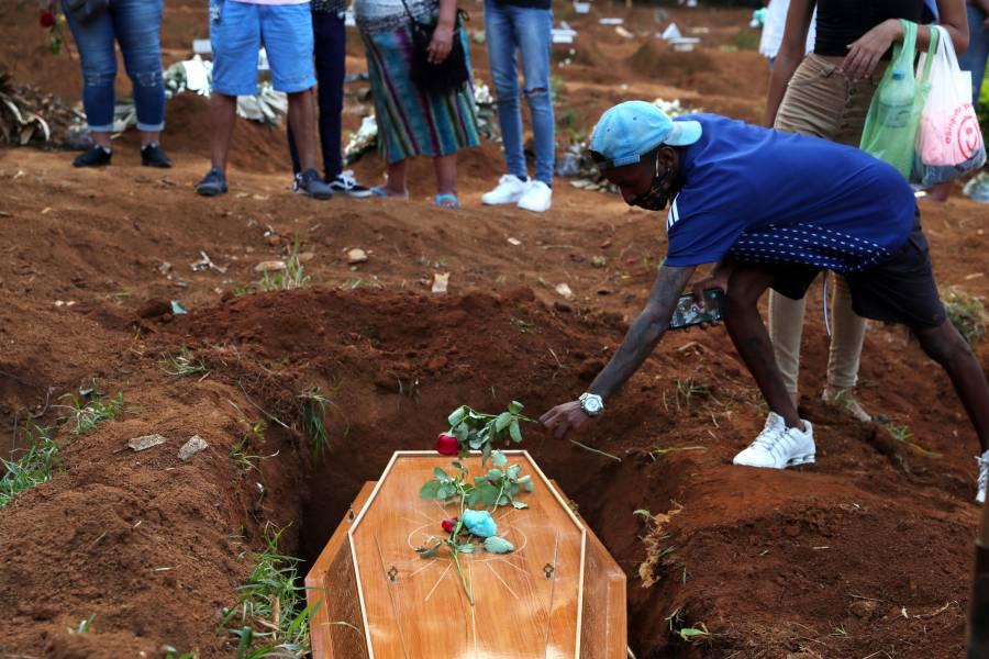 Brasil supera las 300 mil muertes por COVID-19