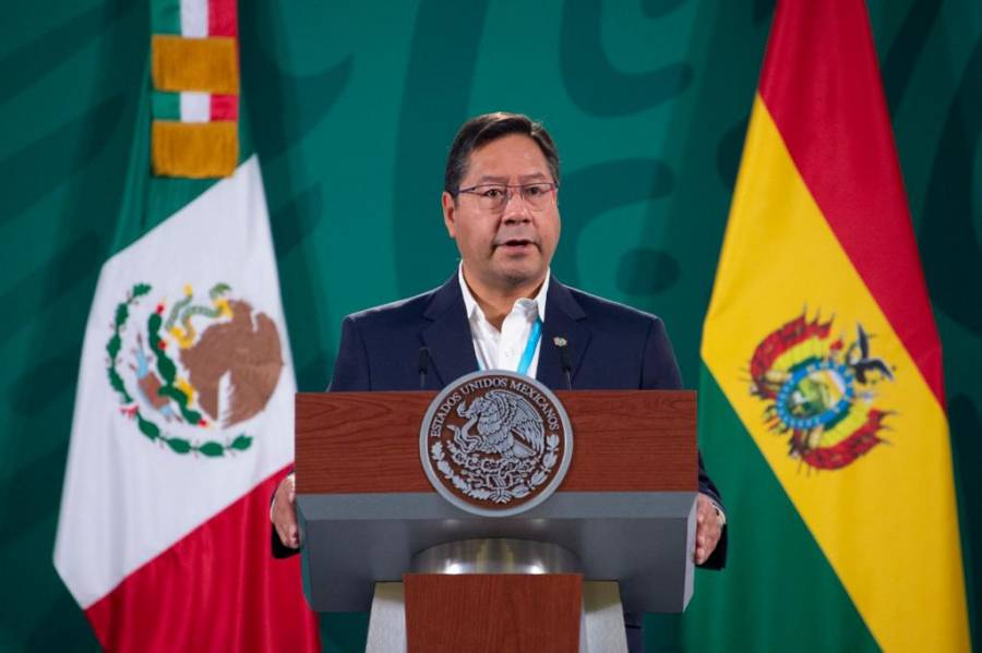 """""""Es una alegría estar en México, ya no como refugiado"""": Luis Arce"""