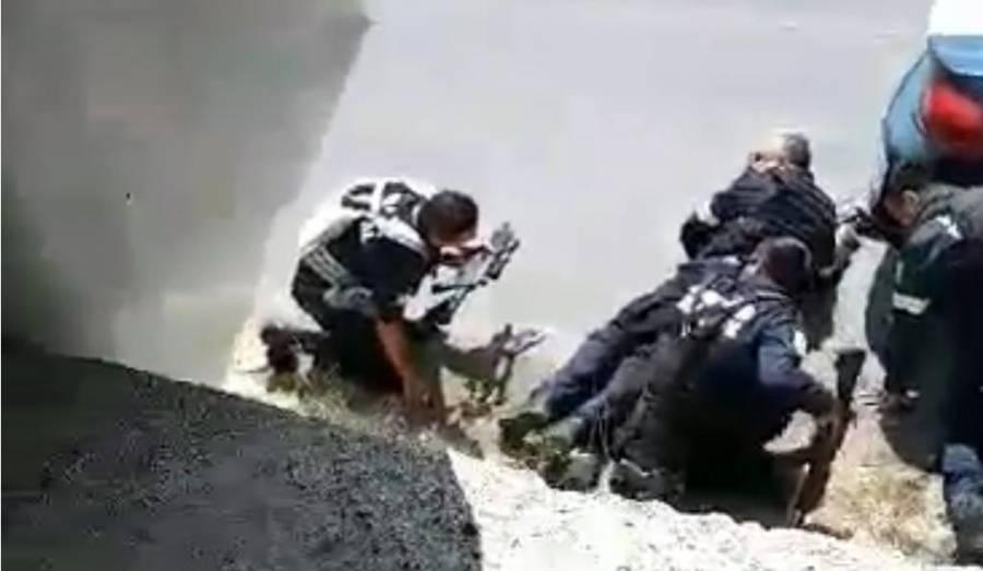 Detienen a 25 por masacre a policías en Edomex