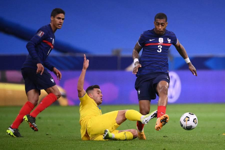 Ucrania sorprende a Francia y se lleva un valioso empate de París rumbo a Qatar 2022