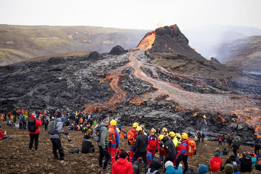 """Volcán islandés se convertiría en un atractivo """"turístico perfecto"""