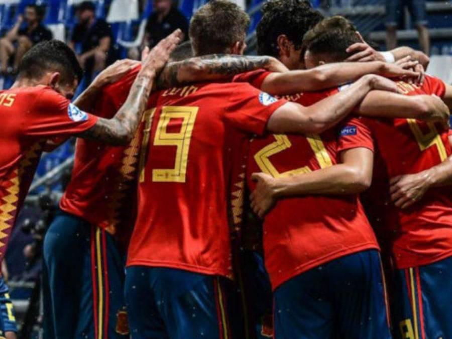 España vence a Eslovenia 3-0 en la sub 21